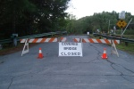Cover Bridge Closed. Open again Fall 2012.