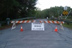 Covered Bridge Closed